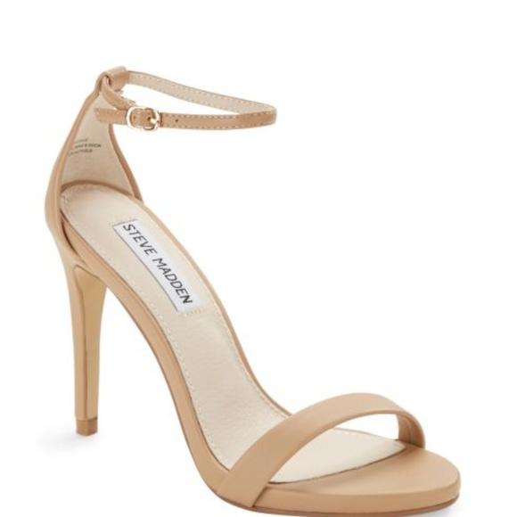 256e750d20f Steve Madden Womens Feliz Dress Sandals Natural 10